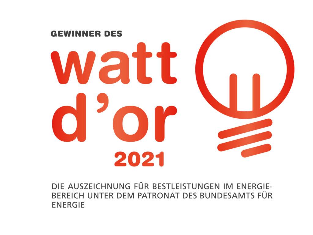 Wir haben den Watt d'Or 2021 gewonnen.